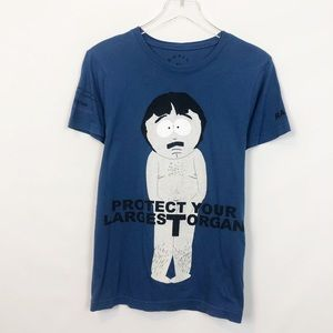 Marc Jacobs Blue South Park Graphic Tee Small